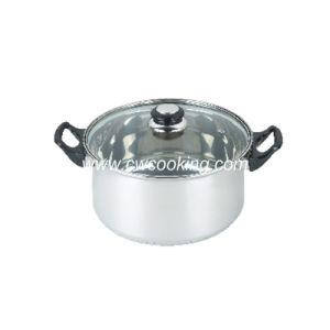 Stainless Steel Stock Pot - Bakelite Handle pictures & photos