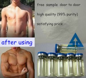 Lean Muscle Gain Steroid Testosterone Enanthate for Bodybuilding pictures & photos