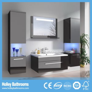 Selling Europe Magnifier New LED Light Touch Switch High-Gloss Paint MDF Furniture Magnifier Bathroom Vanity-D9056A pictures & photos