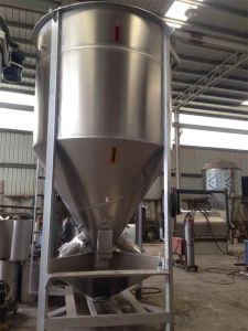 Vertical Pellets Mixer 15t Large Volume Plastic Vertical Screw Mixer