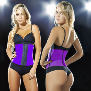 2017 New Latex Waist Cincher Waist Training Slimming Belt pictures & photos