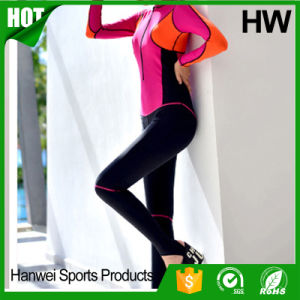 Colorful Nontoxic Waterproof Smooth Skin Short Diving Suit (HW-W007) pictures & photos