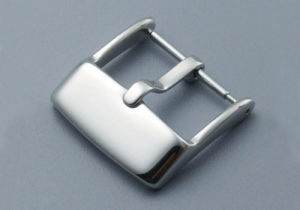 Stainless Steel Watch Buckle Polished Brushed Screw-in Buckle Strap Band Watch Buckles pictures & photos