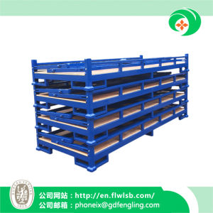 Foldable Steel Stacking Frame for Warehouse with Ce Approval pictures & photos