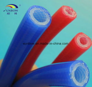 FDA Food Grade Silicone Rubber Reinforced Tube pictures & photos
