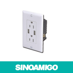 Sinoamigo Sw-Us15A USB Charger Outlet pictures & photos