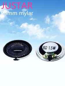 23mm Mylar Speaker 4ohm 1-1.5W with RoHS pictures & photos