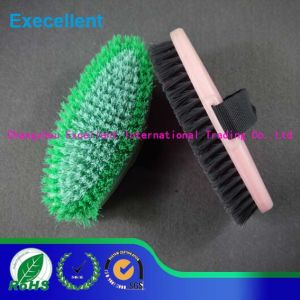 Plastic Horse Body Brush for Saddlery pictures & photos