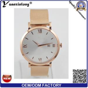 Yxl-028 Japan Movt Quartz Watch, Stainless Steel Back Watches Men, Slim Case Watch pictures & photos