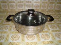 Stainless Steel Us Style Stock Pot with 3or 5 Ply Bottom pictures & photos