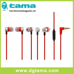 Stereo 3.5mm Jack Earbuds Earphones with Braind Cable Earphone Colorful pictures & photos