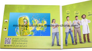 10inch LCD Screen Advertising Promotion Video Business Greeting Cards (VC-100) pictures & photos