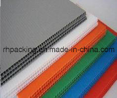 2mm-10mm Corrugated PP Sheet/Flute Board/Corrugated Plastic Board Manufacturer pictures & photos