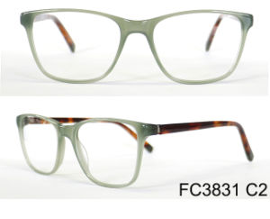 Latest Eyeglasses Frames Acetate Optical with Lamination pictures & photos
