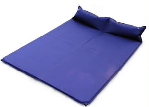 Outdoor Double with Pillow Self Inflatable Mattress pictures & photos