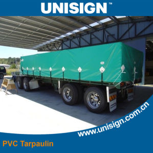 1000*1000d 18*18 Sq/in 630GSM PVC Tarpaulin Truck Cover pictures & photos