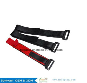 Recyclable Plastic Magic Hook Loop Cable Tie Strap pictures & photos
