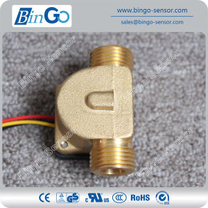 Brass Water Flow Sensor G1/2′′, Different Connection Sizes Water Flow Sensor Controller pictures & photos