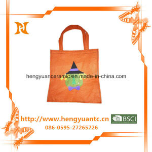 Cheap Orange Cotton Cloth Bag Wholesale pictures & photos