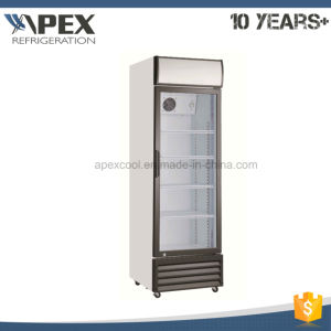 360L Single Door Upright Showcase, Upright Cooler, Glass Door Merchandiser pictures & photos