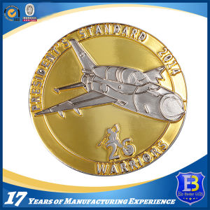 High Quality Challenge Promotion Coin with Dual Plating (Ele-C009) pictures & photos