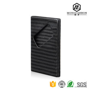 Luxurious Products High Quality Matte Carbon Fiber Credit Card Holder for Business Card Holder pictures & photos