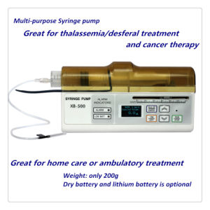 Multi-Purpose Portable Syringe Pump with Ce (XB500) pictures & photos