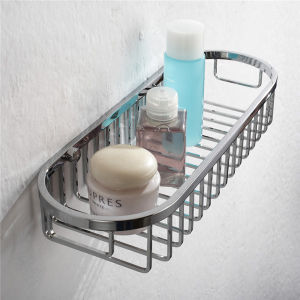 Utility Stainless Steel Bathroom Accessory Wire Basket (8810) pictures & photos