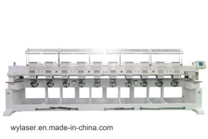 10 Head Professional Mass Production Cap Embroidery Machine Wy910c pictures & photos