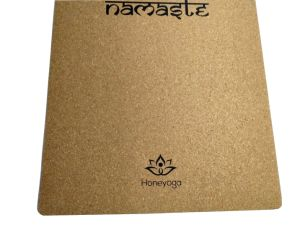 Travel Cork with Natural Rubber Portable Non-Slip Yoga Mats pictures & photos