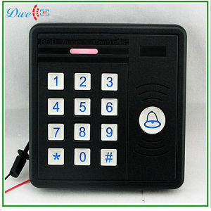 125kHz Wiegand26 Backlight Anti-Rain 12V Keypad Access Control Card Readers with Door Bell Function Swipe Card System pictures & photos