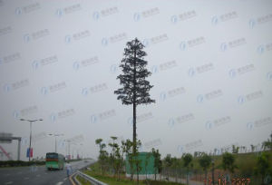 Steel Frame Camouflaged Telecommunication Tree Tower