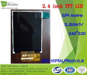 2.4 Inch 240*320 Spi TFT LCD Display, Ili9341V, 16pin with Option Touch Screen pictures & photos