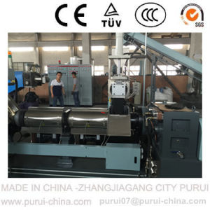 Plastic Pelletizing Machine for Recycling Waste Bottle Flakes pictures & photos
