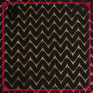 Most Popular 100 Polyester African Terry Cloth Lace Fabric pictures & photos
