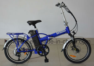 20inch Foldable Electric Bike with Burhsless Gear Motor 36V 250W T/Folding E-Bike (SY-E2006) pictures & photos