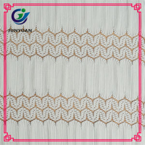 100% Polyester Eyelash Crochet Lace Fabric Wholesale pictures & photos