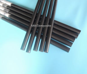 3k Carbon Fiber Tube for UVA Wring Pipe pictures & photos