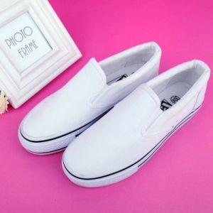 Women Rubber Sole Good Quality Canvas Shoe