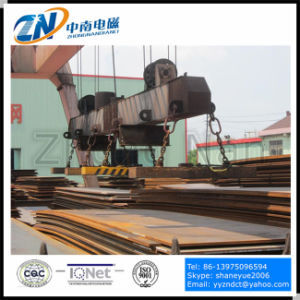 Rectangular Lifting Electromagnet for Lifting High Temperature Steel Plates MW84-25042L/2 pictures & photos