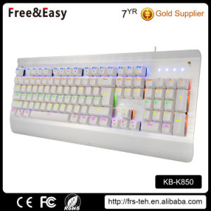 New Programmable Gaming LED Mechanical Keyboard pictures & photos