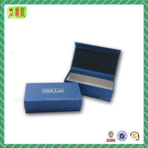 Silver Hot Stamping Magnetic Closure Gift Box pictures & photos