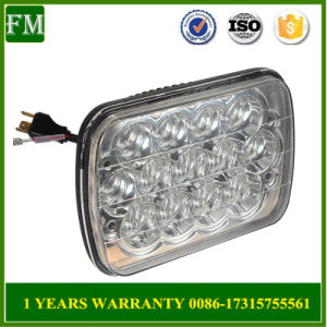 4D Lens LED Headlamp 7X6 LED Headlight for Jeep pictures & photos