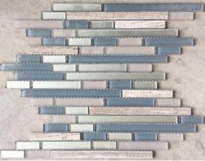 Glass Mosaic in Horizon Mix Jy38k pictures & photos