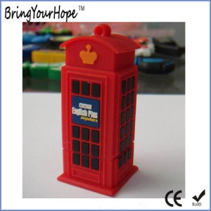 Telephone Booth Design USB Flash Drive (XH-USB-161) pictures & photos