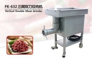 Fk-632 Vertical Double Meat Grinder Meat Grinding Machine Sausage Meat Grinder pictures & photos