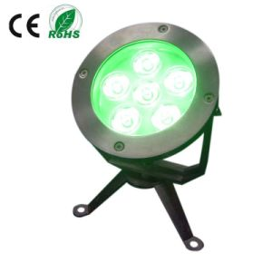 316ss IP68 6X3w LED Underwater Lighting pictures & photos
