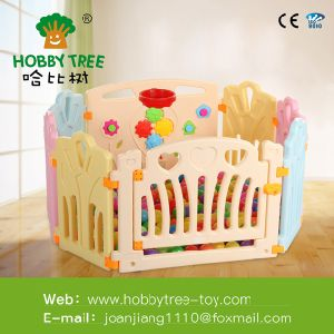 Baby Safety Playpen, Game Board Style Children Play Fence, Colored Plastic Fence for European Standard