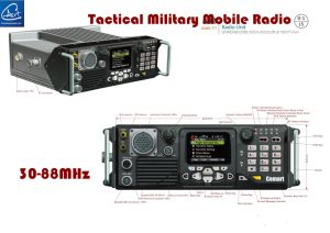 Tactical Digital Mobile Radio in Analog and Digital Mode in 30-88MHz/50W pictures & photos