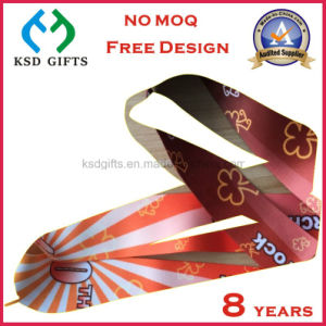 Cmyk Printed Make Your Own Design Reward Medal Ribbon pictures & photos